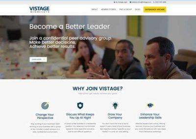 Vistage content marketing