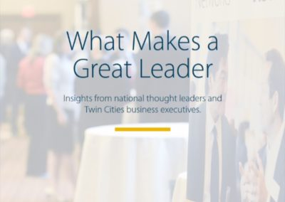 Leadership e-books and blog posts